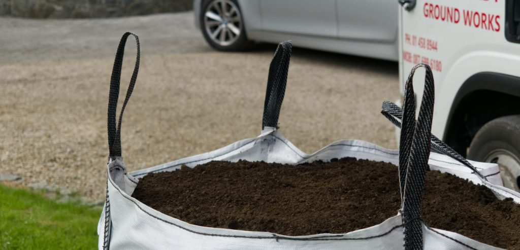 Topsoil one tonne bag Premium plus